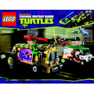 LEGO The Shellraiser Street Chase Set 79104 Instructions