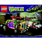 LEGO The Shellraiser Street Chase Set 79104 Instructions