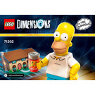 LEGO The Simpsons Level Pack Set 71202 Instructions