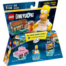 LEGO The Simpsons Level Pack Set 71202 Packaging