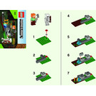 LEGO The Skeleton Defense Set 30394 Instructions
