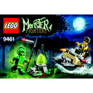 LEGO The Swamp Creature Set 9461 Instructions