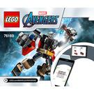 LEGO Thor Mech Armor Set 76169 Instructions