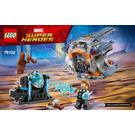 LEGO Thor's Weapon Quest Set 76102 Instructions