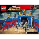 LEGO Thor vs. Hulk: Arena Clash Set 76088 Instructions