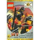 LEGO Three Minifig Pack - Ninja #2 Set 3345