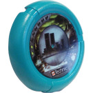 LEGO Throwing Disk with City, 2 Pips (32171)