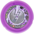 LEGO Throwing Disk with Electro, 2 Pips and Lightning (32171)