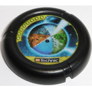 LEGO Throwing Disk with Planet Decoration (32171)