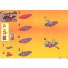 LEGO Thunder Arrow Boat Set 2892 Instructions
