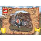LEGO Thunder Blazer Set 7420 Instructions