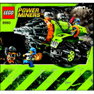 LEGO Thunder Driller Set 8960 Instructions