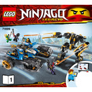 LEGO Thunder Raider Set 71699 Instructions