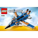 LEGO Thunder Wings Set 31008 Instructions