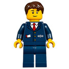 LEGO Ticket Agent Minifigure
