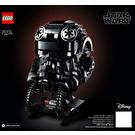 LEGO TIE Fighter Pilot Helmet Set 75274 Instructions