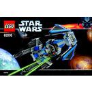 LEGO TIE Interceptor Set 6206 Instructions