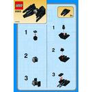 LEGO TIE Interceptor Set (Kabaya) 6965-1 Instructions