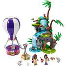 LEGO Tiger Hot Air Balloon Jungle Rescue Set 41423