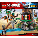 LEGO Tiger Widow Island Set 70604 Instructions