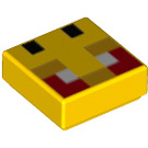 LEGO Tile 1 x 1 with Decoration with Groove (3070 / 76970)