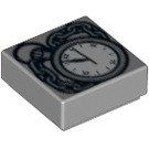 LEGO Tile 1 x 1 with Pocket Watch Design with Groove (3070 / 14392)