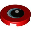 LEGO Tuile 2 x 2 Rond avec Décoration avec porte-goujon inférieur (14769 / 44240)