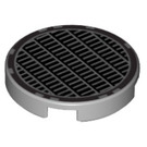 LEGO Tile 2 x 2 Round with Vent Design with Bottom Stud Holder (14769)