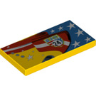 LEGO Tile 2 x 4 with Decoration (70739 / 87079)