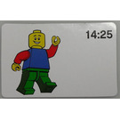 LEGO Time-teaching activity cards 14:25