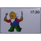 LEGO Time-teaching activity cards 17:30