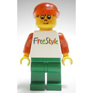LEGO Timmy with Freestyle Torso and Green Legs Minifigure