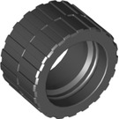 LEGO Tire 24 x 14 Shallow Tread (Tread Small Hub) without Band around Center of Tread (30648)
