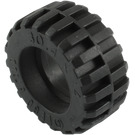 LEGO Tire Ø 30.4 x 14 with Offset Tread Pattern and Band around Center (92402)
