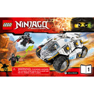LEGO Titanium Ninja Tumbler  Set 70588 Instructions