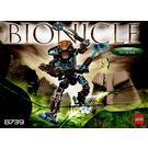 LEGO Toa Hordika Onewa Set 8739 Instructions