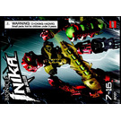 LEGO Toa Jaller Set 8727 Instructions