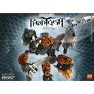 LEGO Toa Pohatu Set 8687