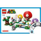LEGO Toad's Treasure Hunt Set 71368 Instructions