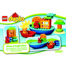 LEGO Toddler Build and Boat Fun Set 10567 Instructions