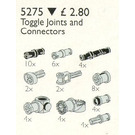 LEGO Toggle Joints and Connector Pegs and Rods Set 5275