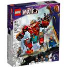 LEGO Tony Stark's Sakaarian Iron Man Set 76194 Packaging
