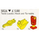 LEGO Toolo Loader, Hook and Turntable Set 5026