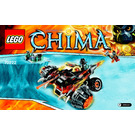 LEGO Tormak's Shadow Blazer Set 70222 Instructions