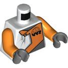 LEGO Torso with World Racers Logo (973 / 76382 / 76382)