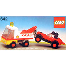 LEGO Tow Truck and Car Set 642-1
