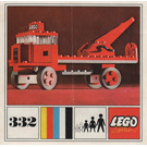 LEGO Tow Truck Set 332 Instructions