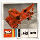 LEGO Tow Truck Set 372-2 Instructions