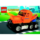 LEGO Tow Truck Set 4652 Instructions