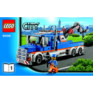 LEGO Tow truck Set 60056 Instructions
